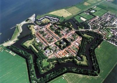 Luchtfoto Willemstad